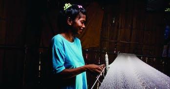 Mlabri villager Chiang Mai