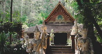 Chiang Mai's hidden jungle temple - Wat Pha Lat