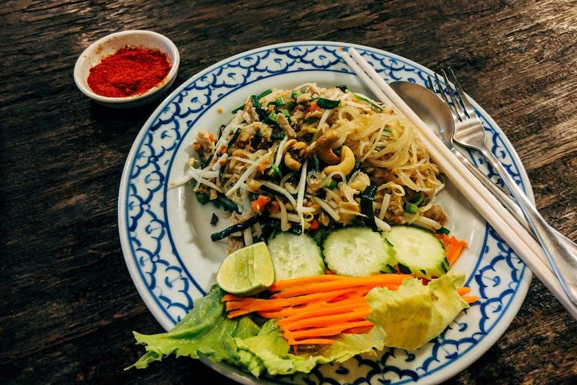 Vermicelli Pad Thai