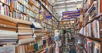 Leo Kallogeropoulos's Shaman Bookshop. in Chiang Mai
