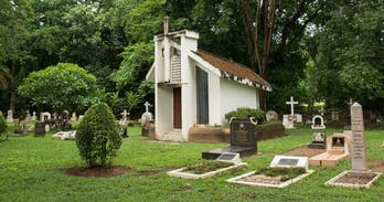 Pim Kemasingki looks at the Chiang Mai's Foreign Cemetery.
