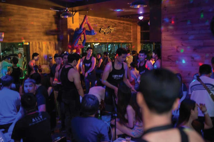 Loft Bar - one of the best gay bars in Chiang Mai