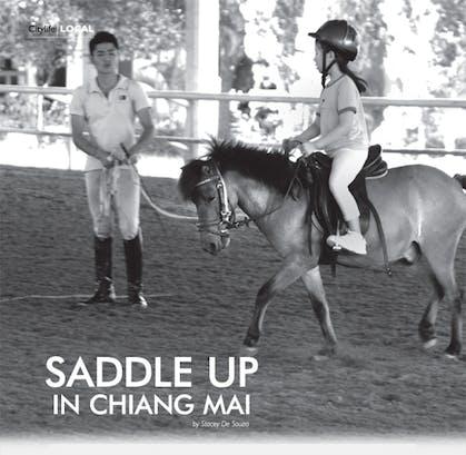 Horseback riding in Chiang Mai