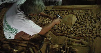 Chiang Mai is the epicentre of the traditioanl Thai craft of woodcarving