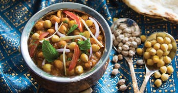 Accha is one of the best Indian restaurants in Chiang Mai. Today we feature their aromatic chana masala, humble chick peas tasting sensational.