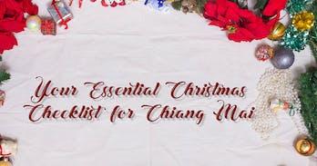 Christmas shopping in Chiang Mai