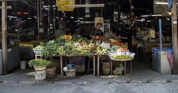 Somphet market Moon Muang Road