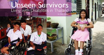 The struggles if disabled people in Thailand