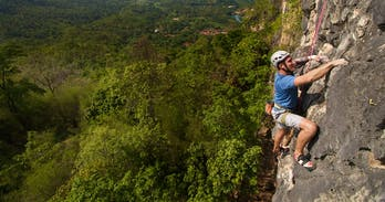 Rock climbing in Chiang mai