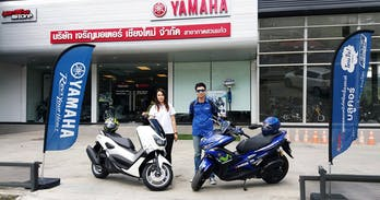 Yamaha scooter Chiang Mai