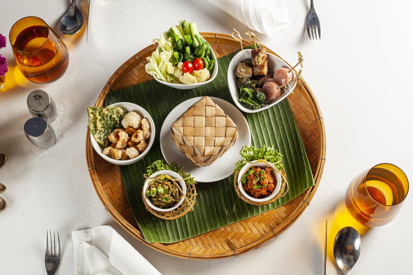 Muang hor d'oeuvres