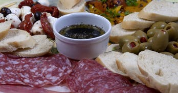 Delicious anti pasti served in the best Italian restaurants in Chiang Mai